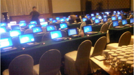 Penyewaan 90 unit Laptop